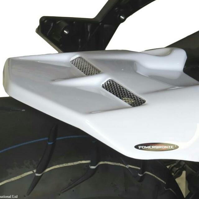 ODAX オダックス リアフェンダー POWER BRONZE インナーフェンダー カラー:ホワイト/ブルーメッシュ TRACER900