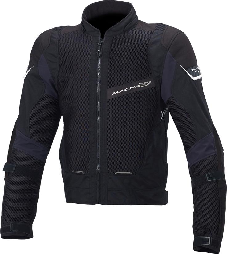 MACNA マクナ メッシュジャケット Sunrise Black サイズ:XL