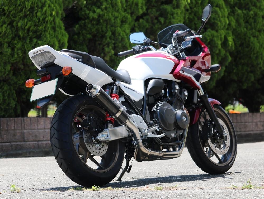 WR'S ダブルアールズ Sラウンドタイプ WR'S スリップオンマフラー タイプ:カーボンサイレンサー CB400スーパーフォア CB400スーパーボルドール:317d59ef --- bibliahebraica.com.br