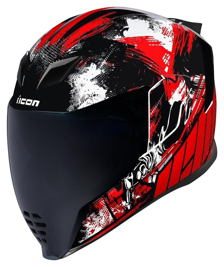 ICON アイコン フルフェイスヘルメット AIRFLITE STIM HELMET [エアフライト STIM ヘルメット] サイズ:L(59-60cm)
