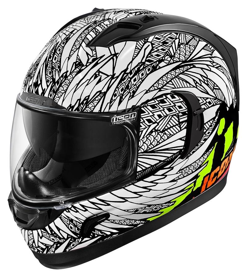 Icon Alliance GT Rubatone Helmet Black S