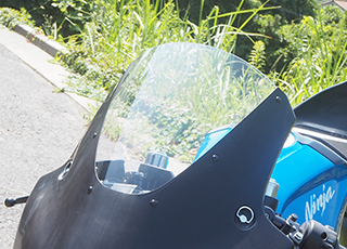 Magical Racing マジカルレーシング 専用スクリーン ニンジャ250 ABS ニンジャ400 (2014-)