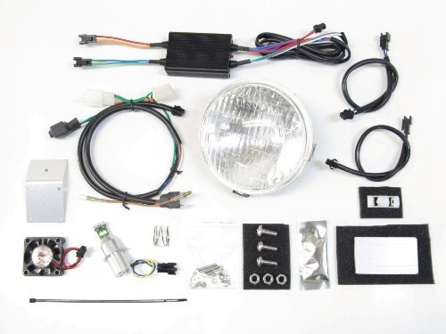 PROTEC プロテック ヘッドライト本体・ライトリム/ケース LBH-H01 LEDクラシカルヘッドライトキット 色温度:6000K スーパーカブ110 スーパーカブ50