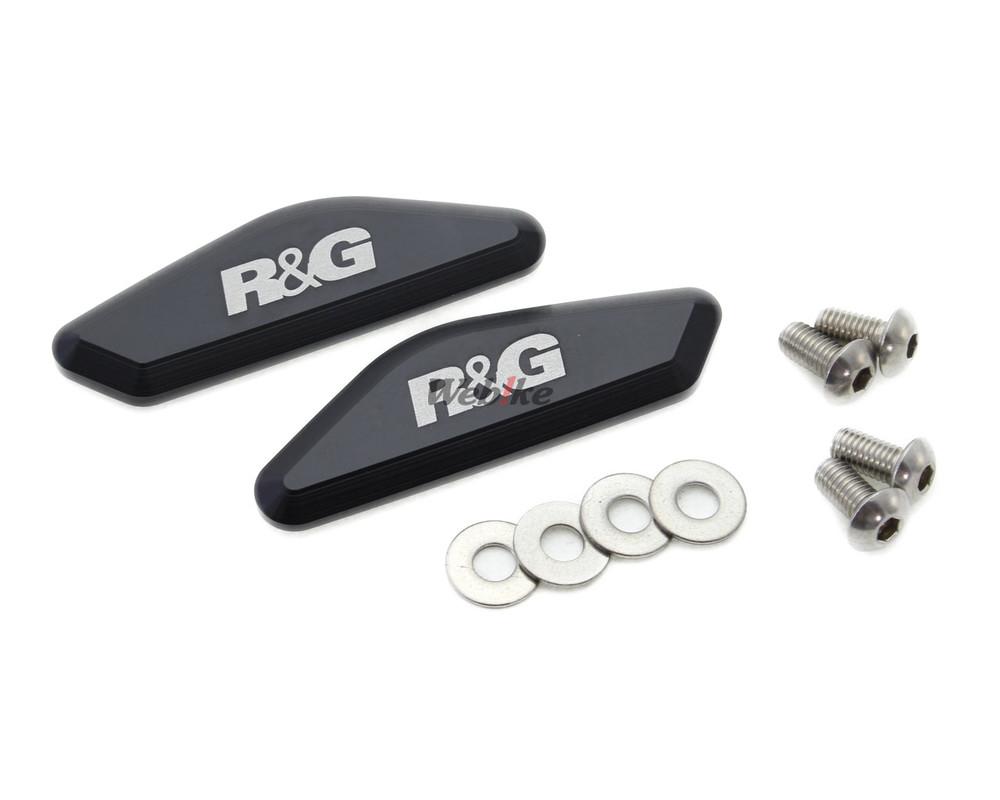 R&G アールアンドジー ミラー類 ミラーブロックオフ【Mirror Blanking Plates】■ YZF-R6