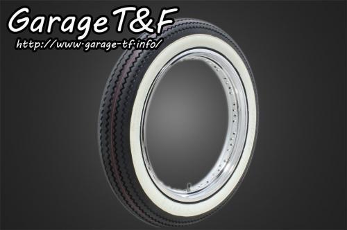 ガレージT&F オンロード・アメリカン/クラシック unilli(ユナリ) ビンテージタイヤ 19×4.00 ドラッグスター400