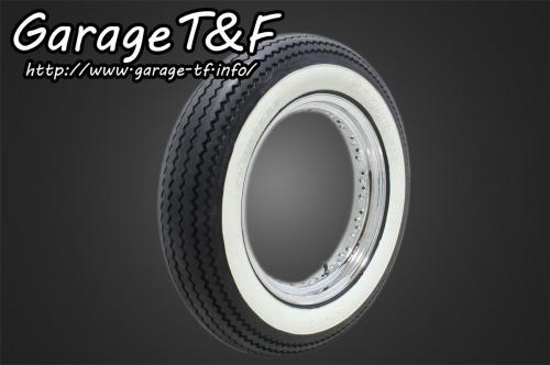 ガレージT&F unilli(ユナリ) ビンテージタイヤ 16×5.00 ドラッグスター400クラシック