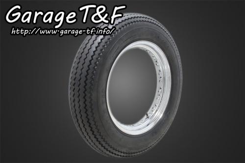 ガレージT&F unilli(ユナリ) ビンテージタイヤ 16×5.00 イントルーダークラシック400