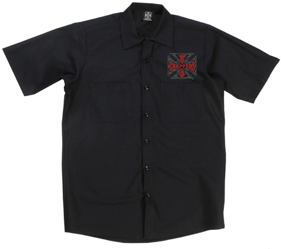 WEST COAST CHOPPERS ウエストコーストチョッパーズ WCC Chief Work shirt [WCC チーフ ワークシャツ]
