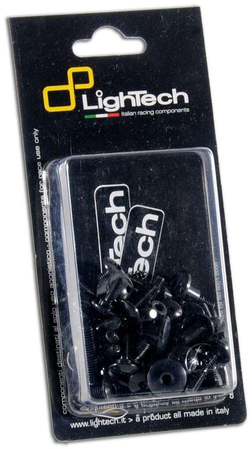 LighTech ライテック その他エンジンパーツ ボルトキット フレーム用 カラー:ブラック Z750 07-12