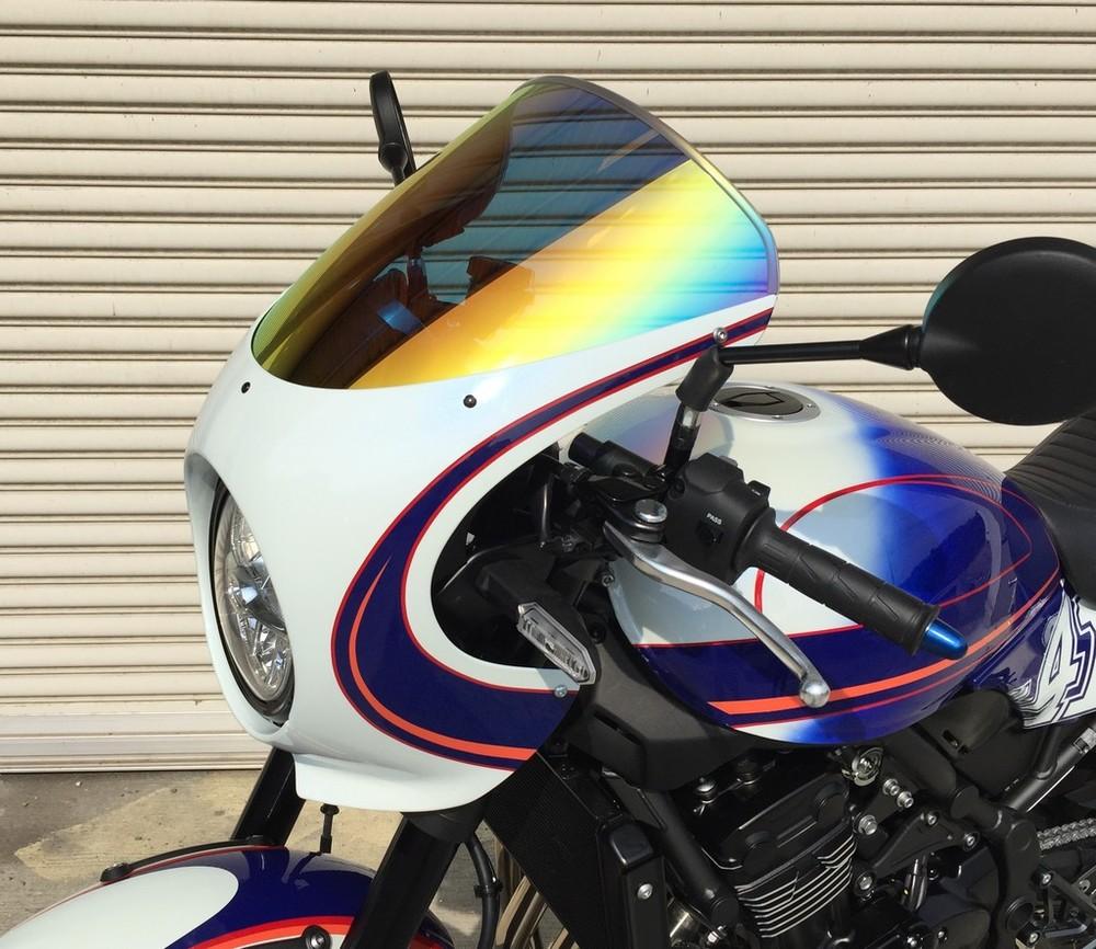 【イベント開催中!】 ACRY-Point アクリポイント ストリートタイプスクリーン スクリーンカラー:ミラー Z900RS CAFE