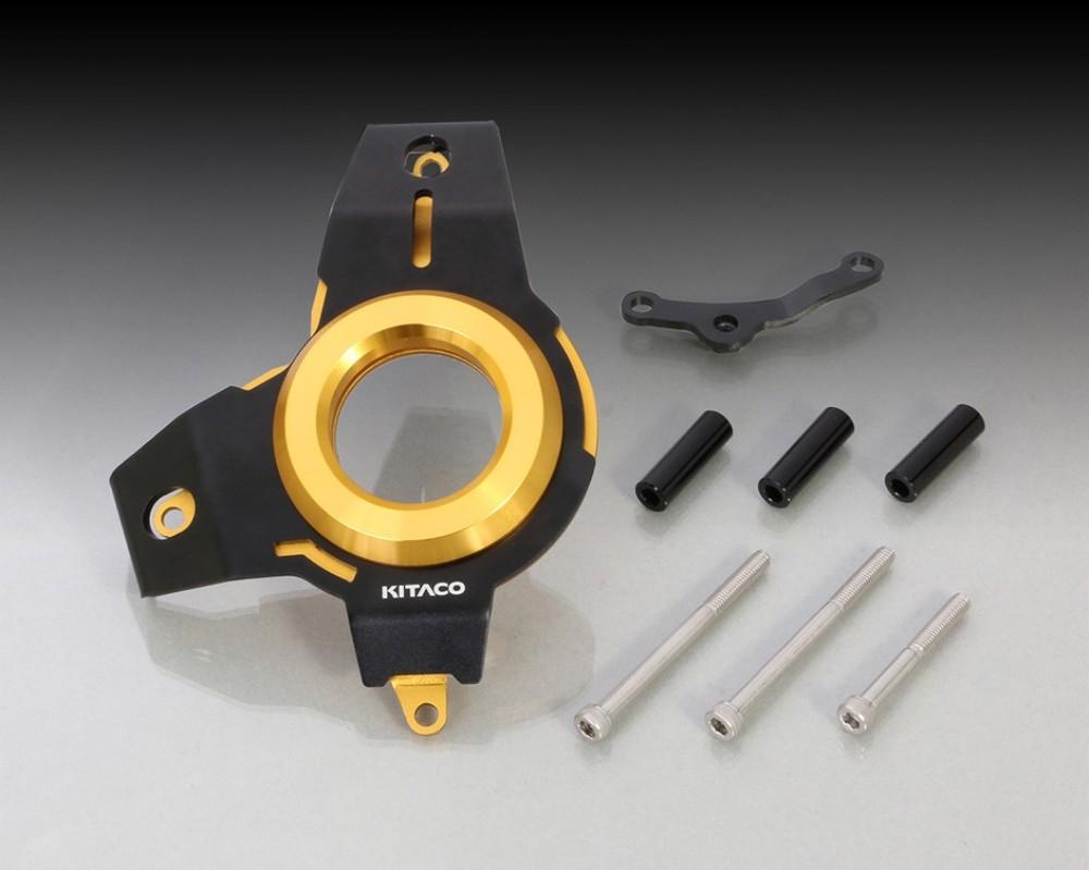 キタコ KITACO エンジンカバー Lクランクケースカバー カラー:ゴールド グロム (JC61全車種) グロム (JC75全車種) モンキー125 (JB02全車種)