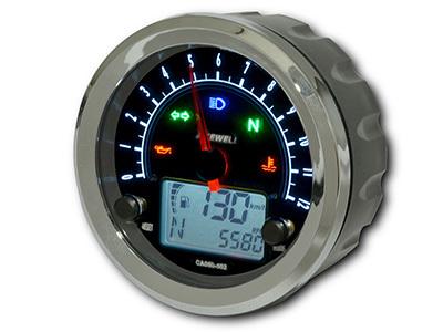 ACEWELL エースウェル スピードメーター 多機能デジタルメーター タイプ:9000rpmスケール パネルカラー:ブラック