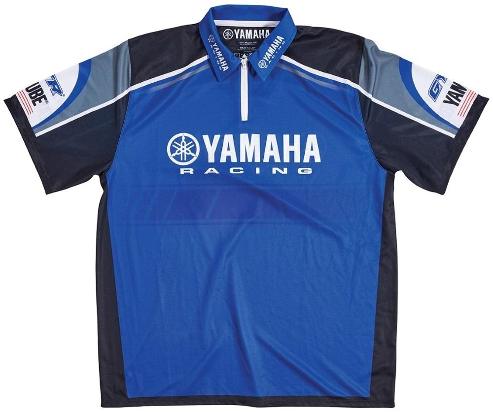US YAMAHA 北米ヤマハ純正アクセサリー カジュアルウェア Men's Yamaha Racing Jersey サイズ:XL