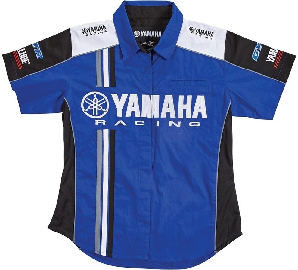 US YAMAHA 北米ヤマハ純正アクセサリー ヤマハ・レーシング・ピット・レーン・シャツ 17PIT・レディース