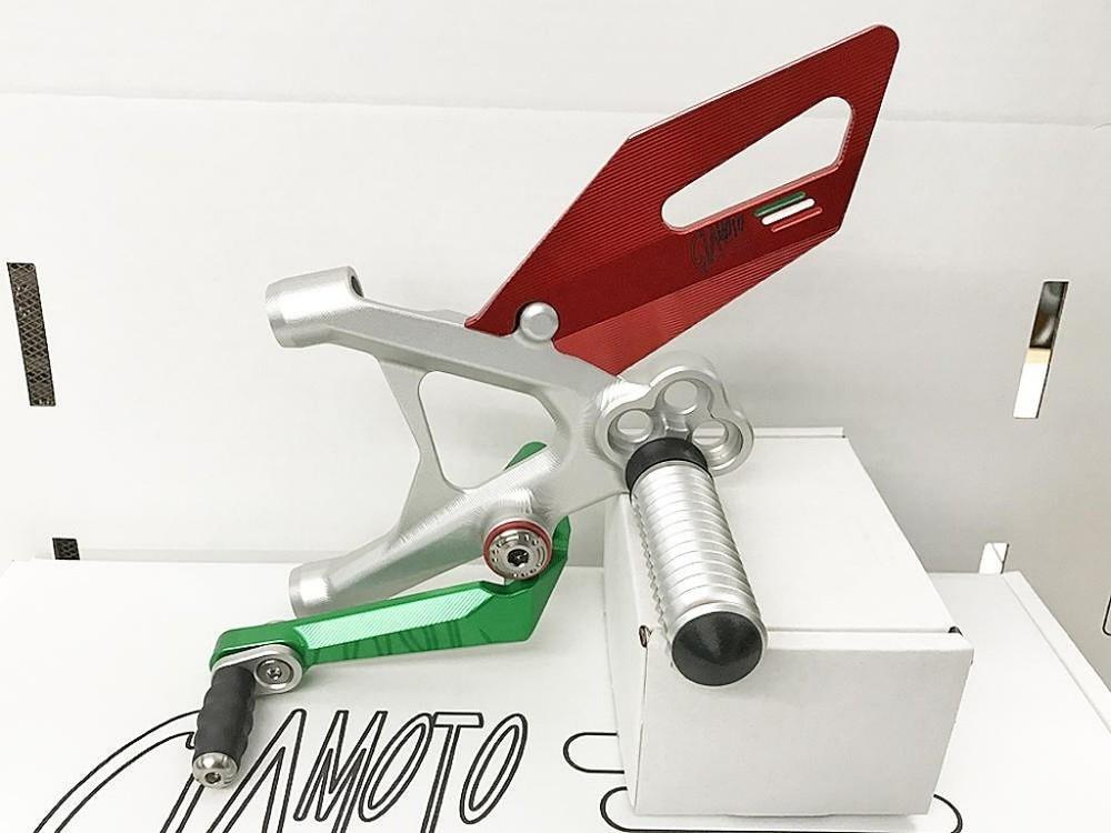 人気デザイナー GiaMoto ギアモト バックステップキット 1299PANIGALE 1199Panigale 959PANIGALE 899PANIGALE, 上市町 95169698