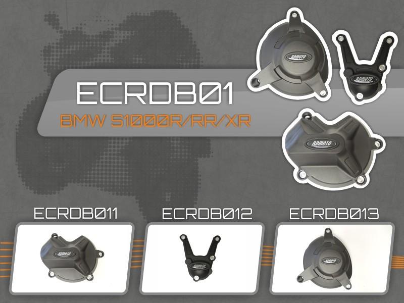 アールディーモト RDmoto エンジンカバーセット【Set of engine covers RDmoto】 S1000 R 09-15 S1000 RR 09-15 S1000 XR 09-15