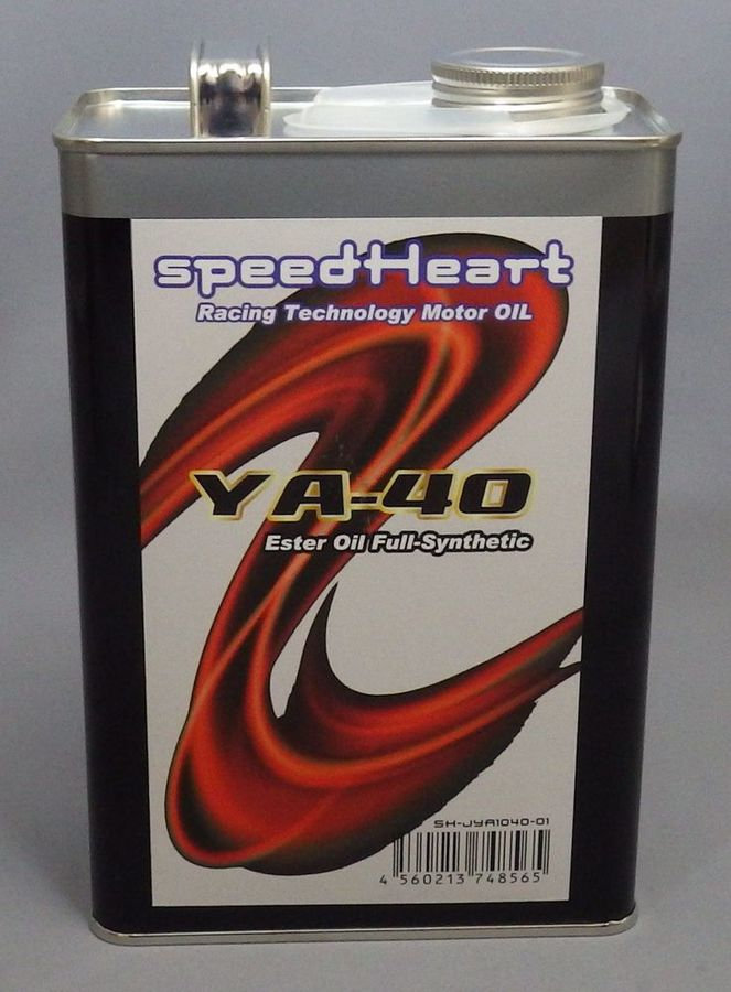 Speed Heart スピードハート YA-40 10W-40 MT-07 MT-09 MT-10 YZF-R1 YZF-R25 YZF-R3