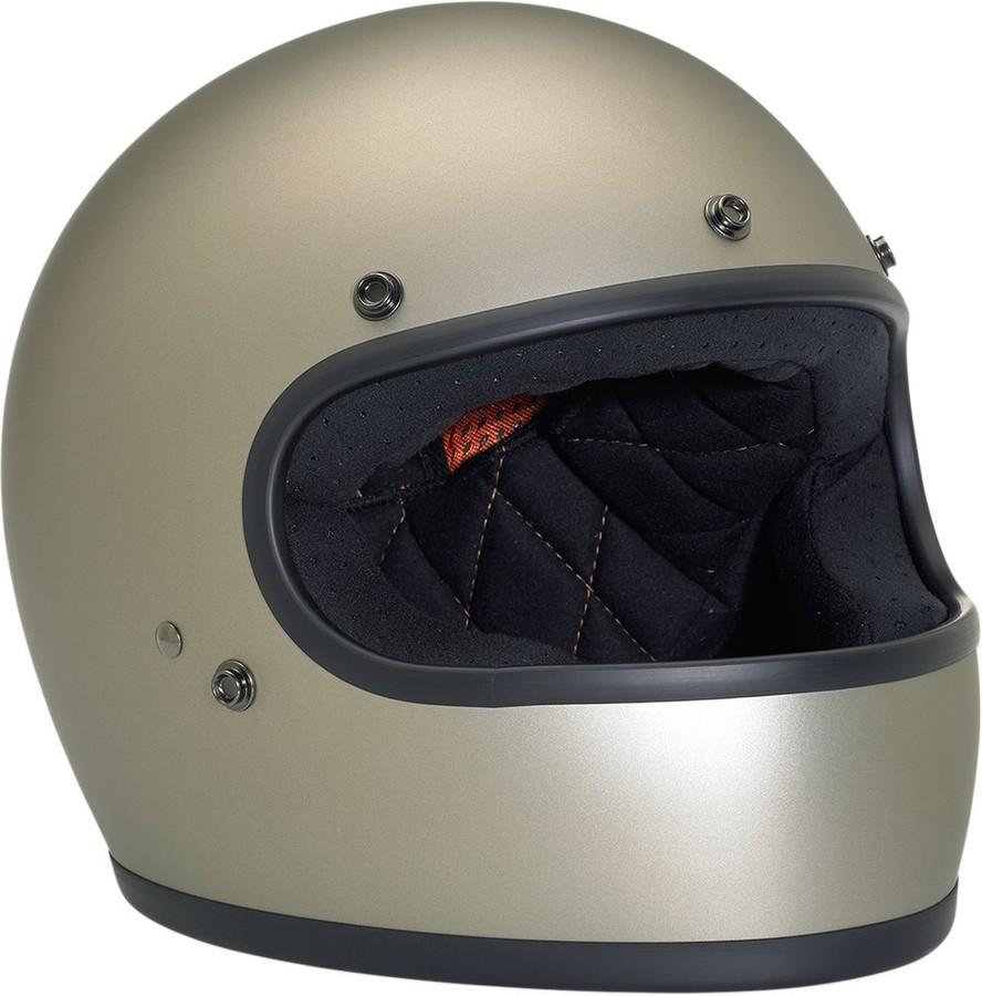 BILTWELL ビルトウェル GRINGO [グリンゴ] レトロフルフェイスヘルメット HELMET GRINGO FL TITNM サイズ:X-Small (53-54cm) [0101-7192]