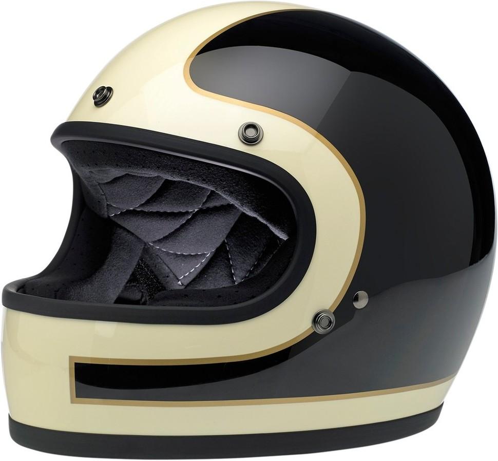 BILTWELL ビルトウェル GRINGO [グリンゴ] レトロフルフェイスヘルメット HELMET GRINGO TRKR WBG サイズ:X-Small (53-54cm) [0101-7613]