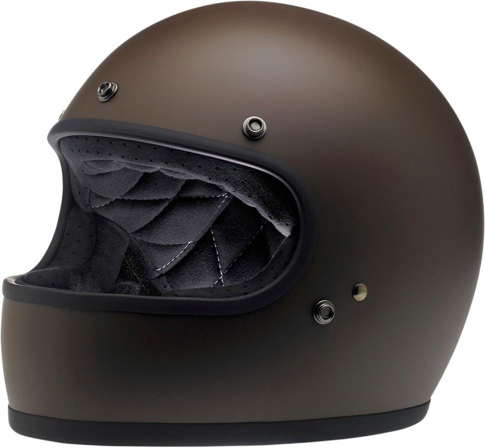 BILTWELL ビルトウェル GRINGO [グリンゴ] レトロフルフェイスヘルメット HELMET GRINGO FLAT CHOC サイズ:Medium (57-58cm) [0101-9866]