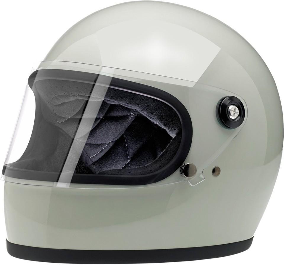 BILTWELL ビルトウェル GRINGO-S [グリンゴ-S] レトロフルフェイスヘルメット HELMET GRINGO-S GLS GRN サイズ:2X-Large (63-64cm) [0101-9899]