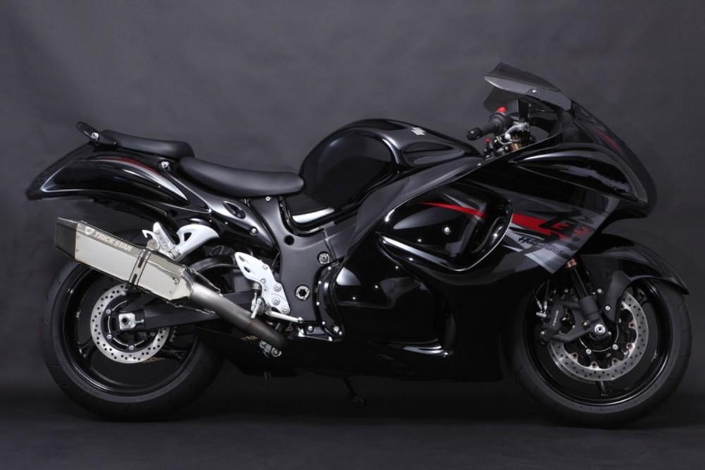 TRICK STAR トリックスター レーシングスリップオンマフラー GSX1300R ハヤブサ(隼)