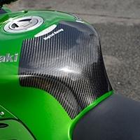【イベント開催中!】 Magical Racing マジカルレーシング タンクカバー タンクエンド タイプ:平織カーボン製 ZX-14R