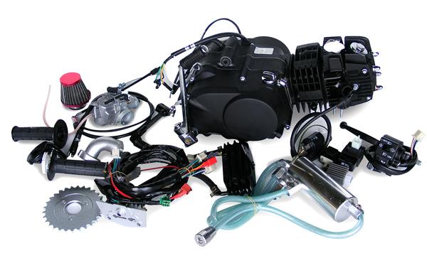 田中商会 TANAKA エンジンCOMP エンジンキット124cc オールキット付き デコンプキット:有り 付属ハーネス:シャリィ用 モンキー