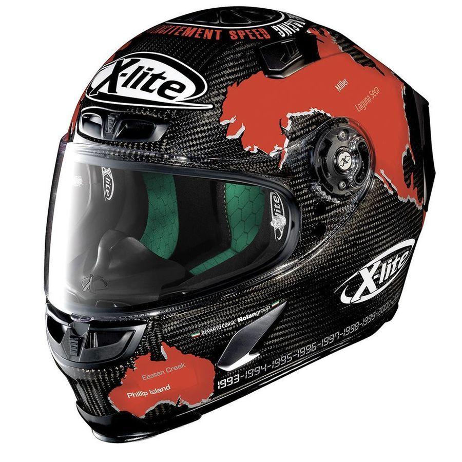 NOLAN ノーラン フルフェイスヘルメット X803 ウルトラカーボン チェカ サイズ:XL(61-62)