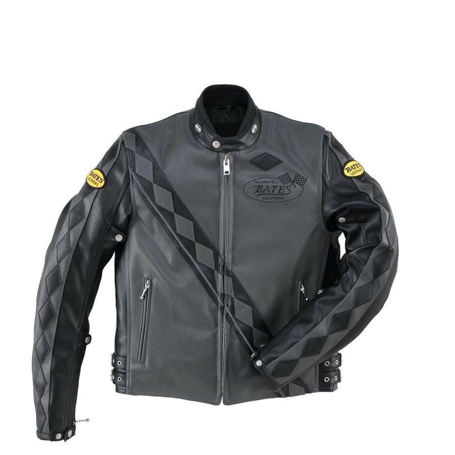 BATES ベイツ ウインタージャケット 合成皮革ジャケット(中綿入り) サイズ:LW
