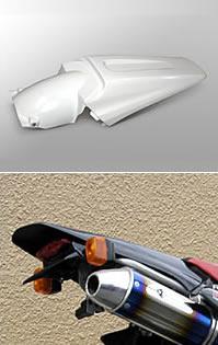 Magical Racing マジカルレーシング テールカウル XR250モタード