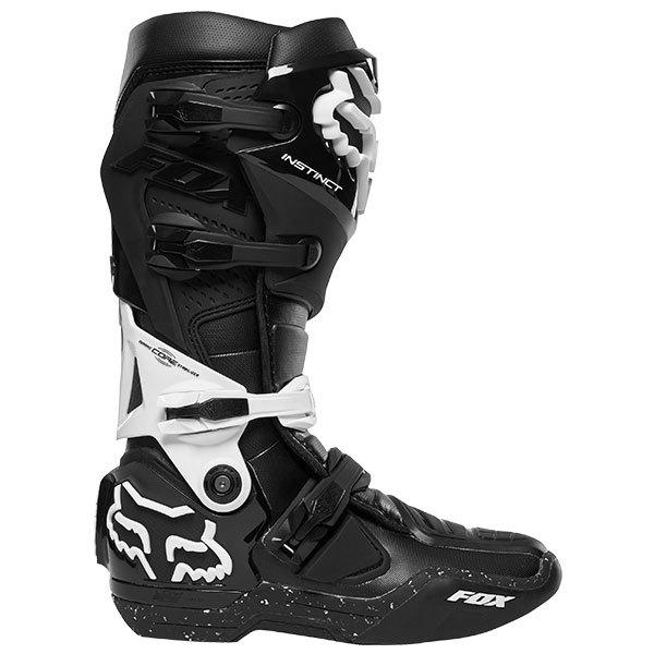 Motocross boot strap Fox Instinct black silver 200mm