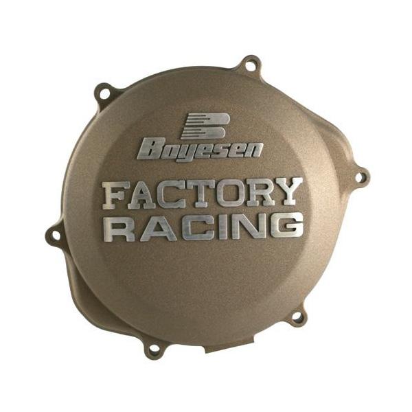 Boyesen ボイセン エンジンカバー クラッチカバー カラー:マグネシウム CRF450R 09-16