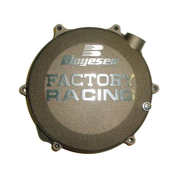 Boyesen ボイセン エンジンカバー クラッチカバー カラー:マグネシウム RMZ450 08-16、RMX450Z 10