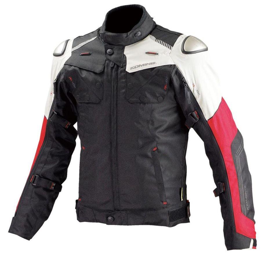 【イベント開催中!】 KOMINE コミネ 3シーズンジャケット JK-588 フルイヤーチタニウムジャケット サイズ:XL