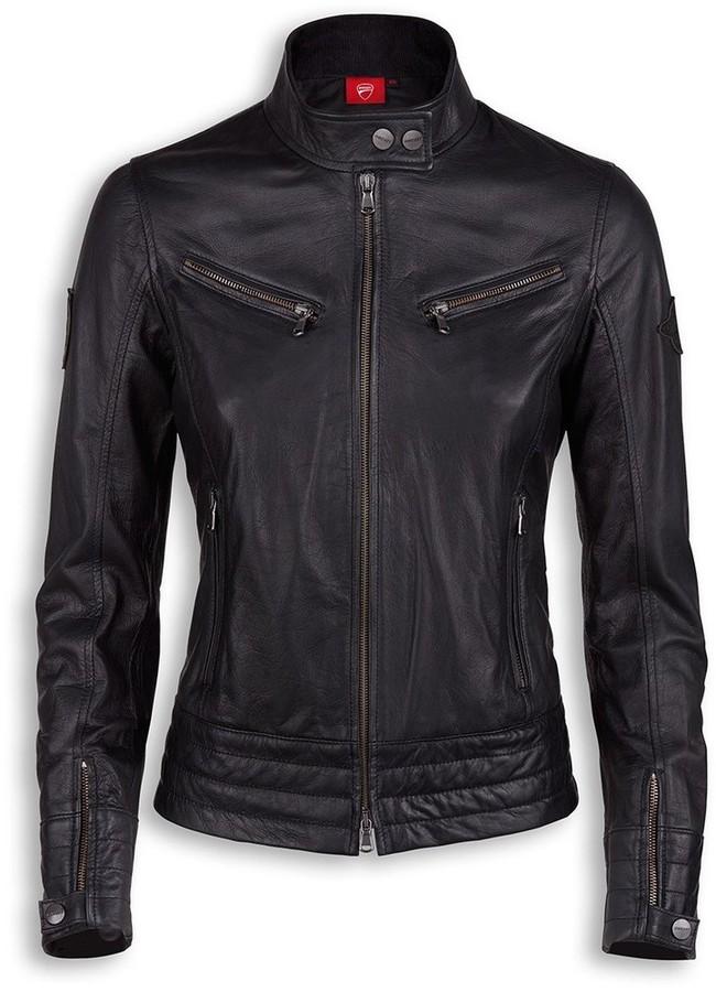 DUCATI Performance ドゥカティパフォーマンス Vintage womens leather jacket レディースレザージャケット Size:XS