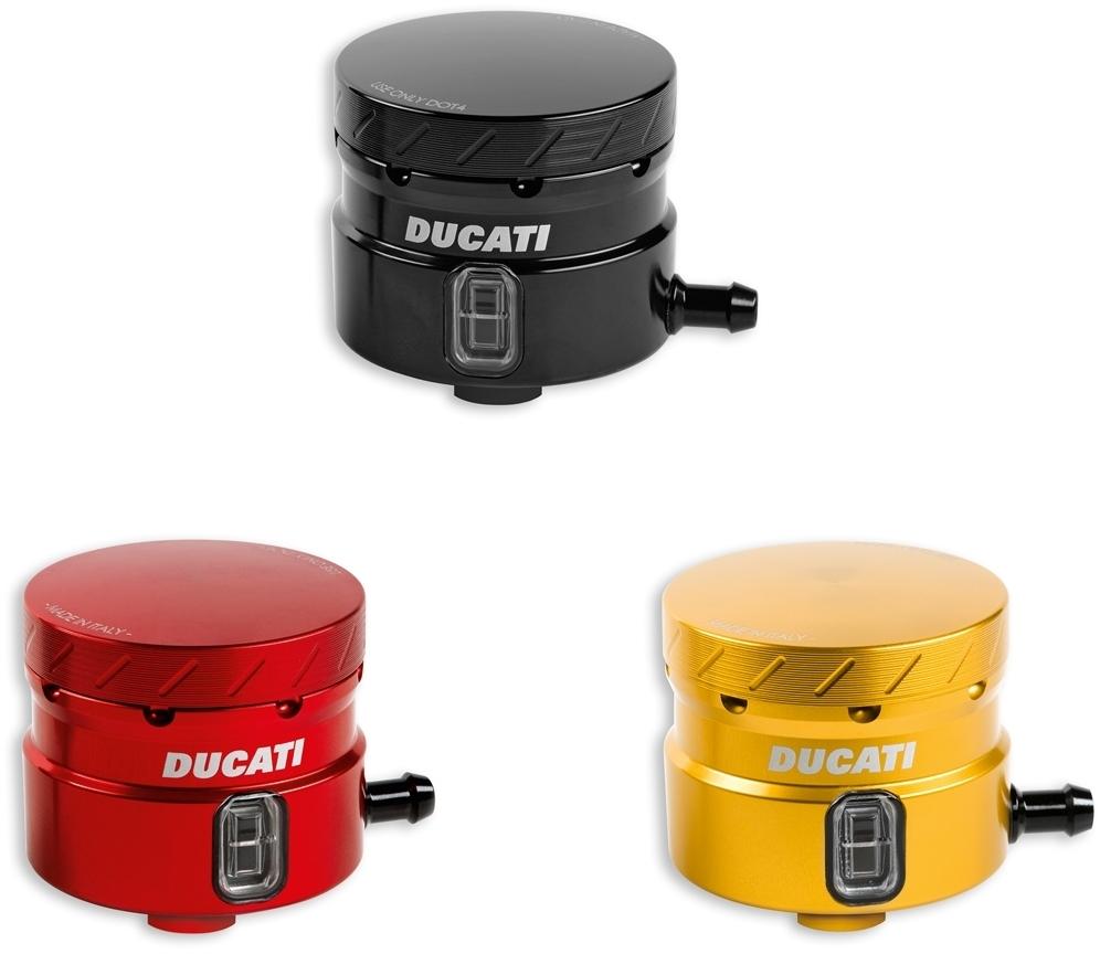 DUCATI Performance ドゥカティパフォーマンス その他ブレーキパーツ アルミリザーバータンクセット Color:Red anodized Hypermotard [ハイパーモタード] 939 SP 2016 Hypermotard [ハイパーモタード] SP