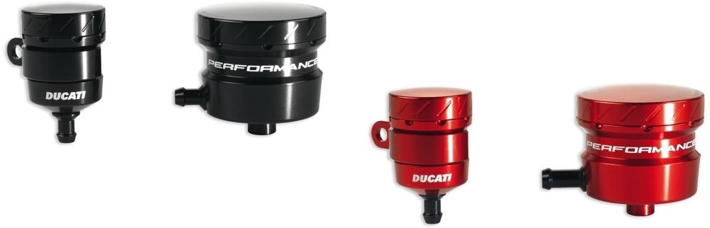 DUCATI Performance ドゥカティパフォーマンス その他ブレーキパーツ アルミリザーバータンクセット カラー:シルバー