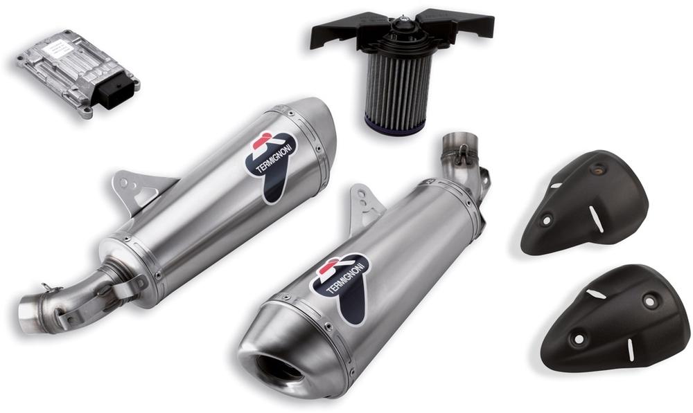 DUCATI Performance ドゥカティパフォーマンス スリップオンマフラーキット Titanium homologated silencers kit Monster 795 2014、2013、2012