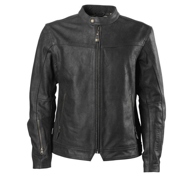 RSD Roland Sands Design ローランドサンズ Design Men's Walker Perforated Leather Jacket