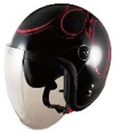SPEED PIT スピードピット JL-65SR ファイアーカラー スモールジェットヘルメット