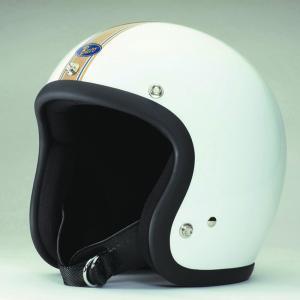 BUCO ブコ ジェットヘルメット スタンダード ゴールデンストライプ サイズ:ML