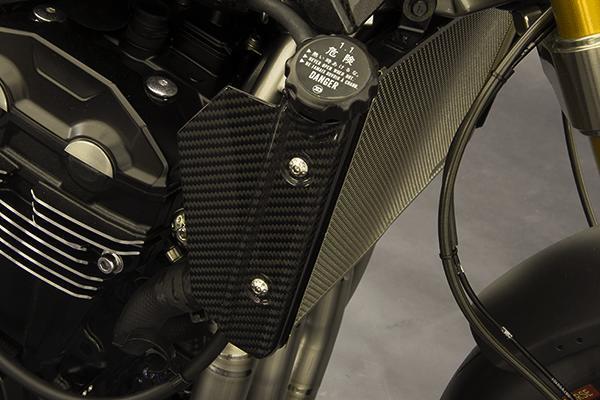 MOTO CORSE モトコルセ カーボンファイバー ウォーターラジエーター サイドパネル Z900RS