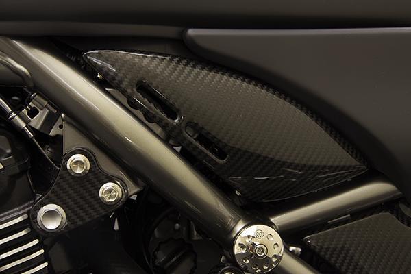 MOTO CORSE モトコルセ カーボンファイバー スロットルボディカバーセット Z900RS