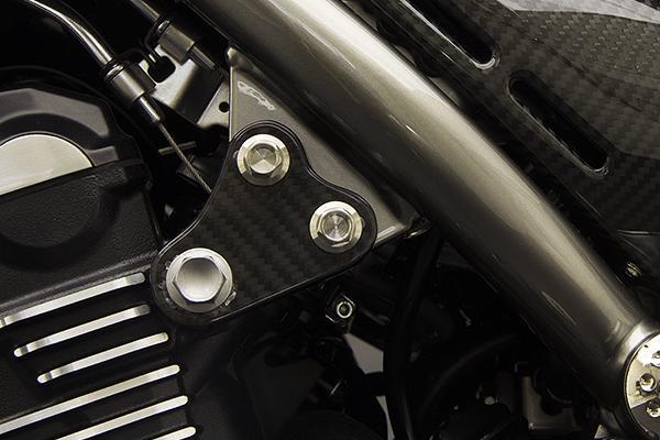 MOTO CORSE モトコルセ カーボンファイバー アッパーエンジンマウントセット Z900RS