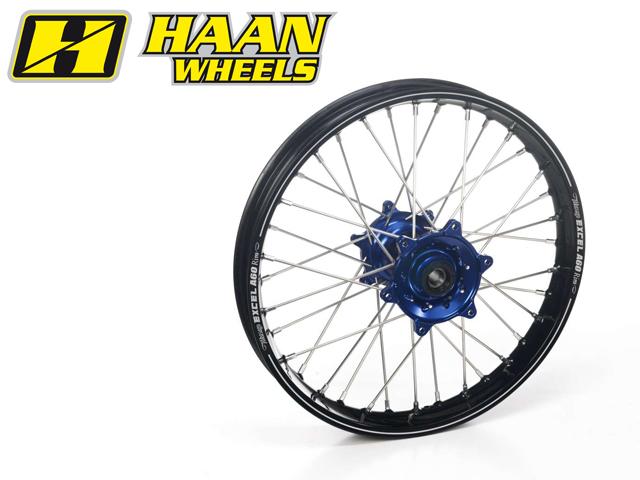 最高の HAAN WHEELS ハーンホイール ホイール本体 リアオフロードコンプリートホイール R2.15/19インチ カラー:ブルー カラー:レッド All CRFX250/450 (07-14), リバティプリントショップmerci 2388432e