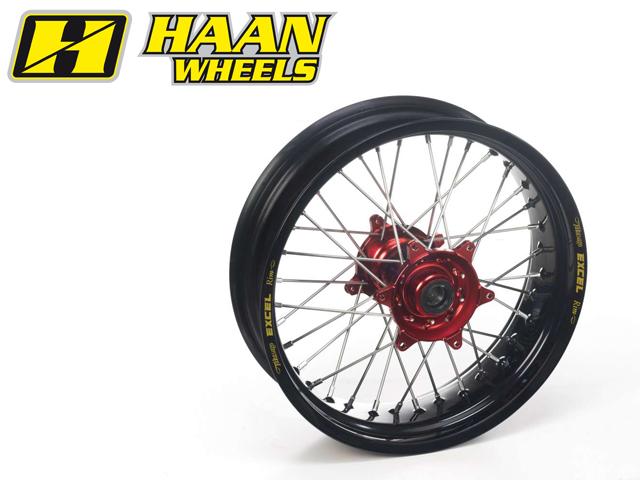 HAAN WHEELS ハーンホイール リアモタードコンプリートホイール R5.50/17インチ YZF450 YZF250