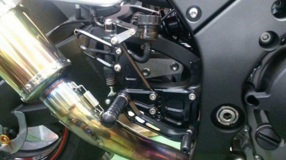 K-FACTORY Kファクトリー ライディングステップ (レース) ZX-10R