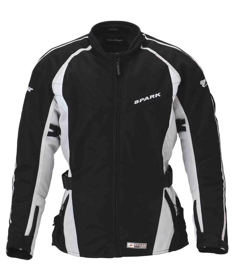 SPARK スパーク クルーザーメッシュジャケット カラー:ブラック/シルバー サイズ:LL