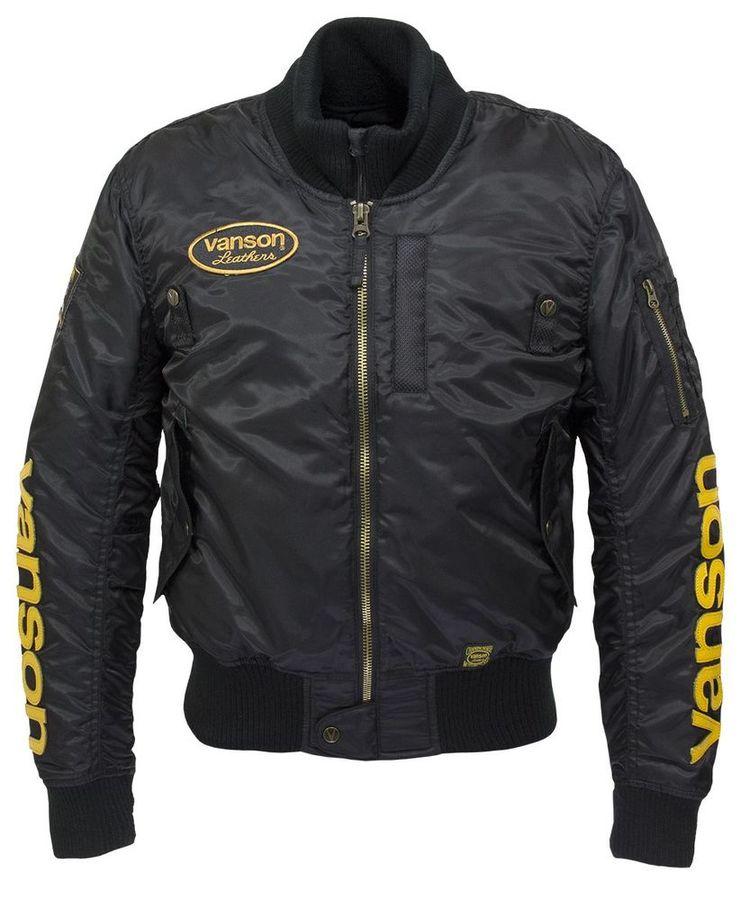 VANSON バンソン ウインタージャケット ナイロンジャケット サイズ:LW